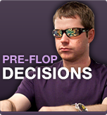 Pre-flop Decisions In Early Stages of Tournaments